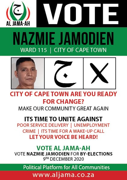 VOTE NAZMIE JAMODIEN-      9 December 2020